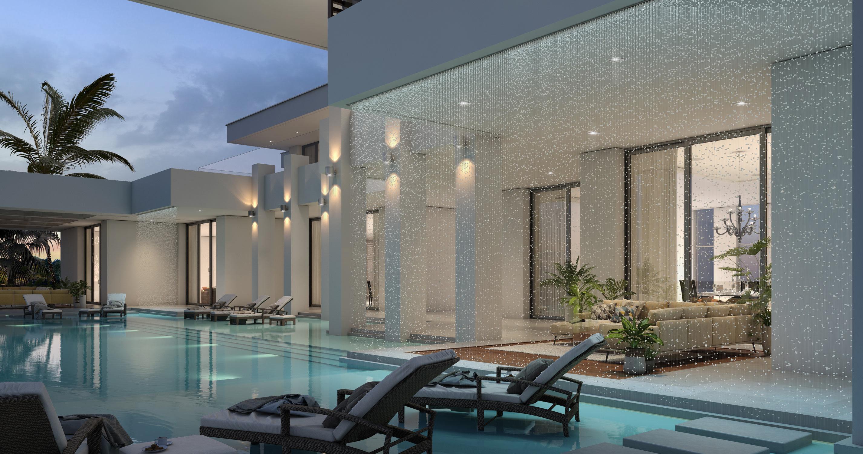 Lagoon Villa in Doha-Prisma Architecture, 2016