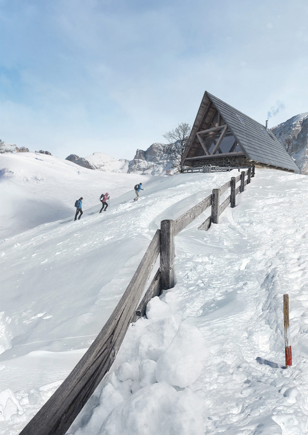 Mountain chalet in Cortina – Giovanni Cattani Architect, 2015