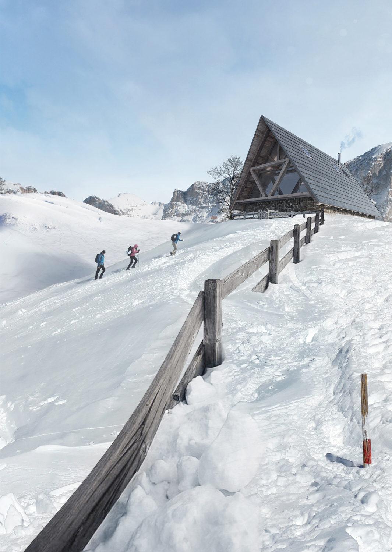Mountain chalet in Cortina – Giovanni Cattani Architect, 2015