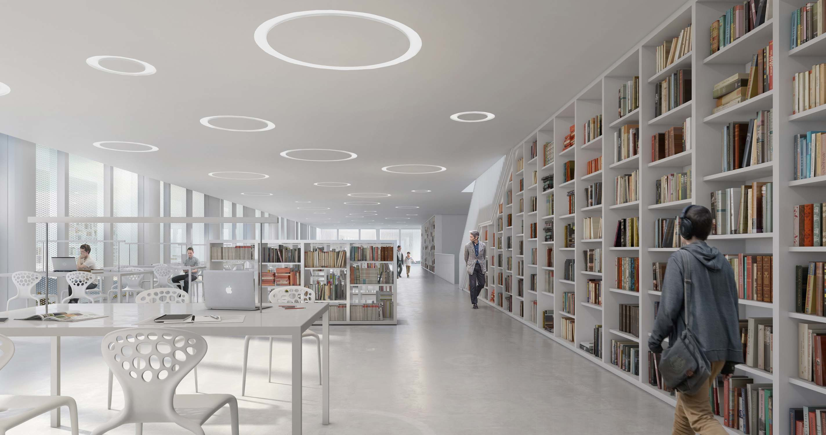 New library in Varna – AMA Andrea maffei Architects, 2016