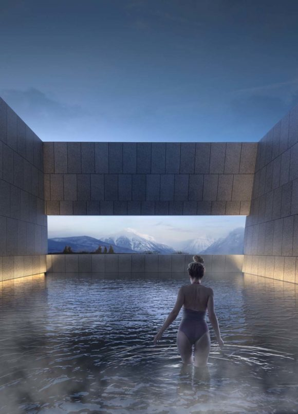 New thermae in Ponte di Legno – ARW Architectural Research Workshop-2017