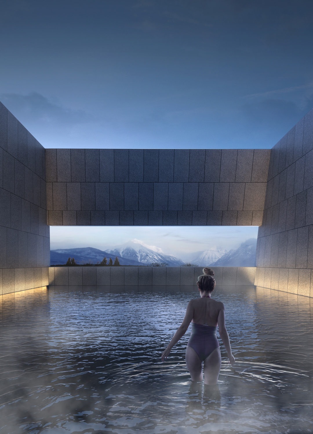 New thermae in Ponte di Legno – ARW Architectural Research Workshop, 2017
