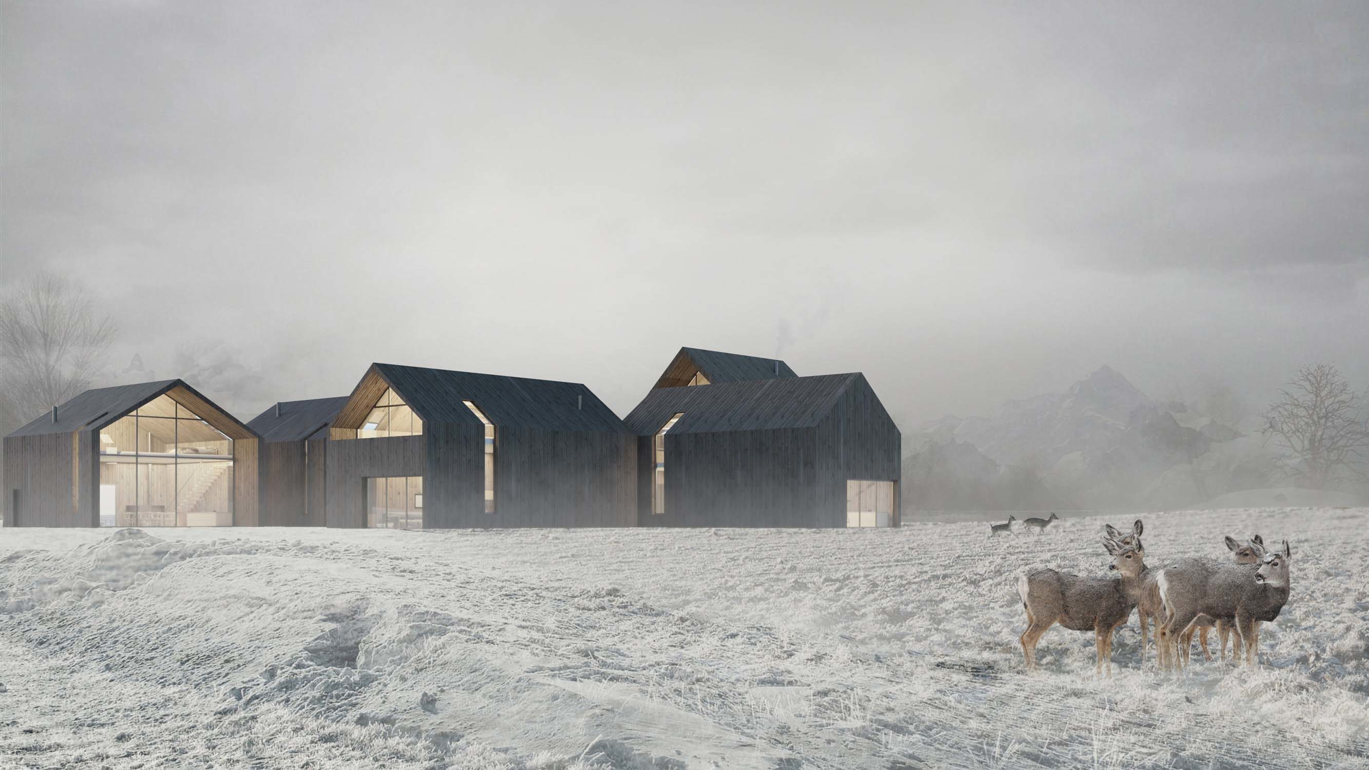 Norwegian cottage in Narvik – Level Archiviz – 2013