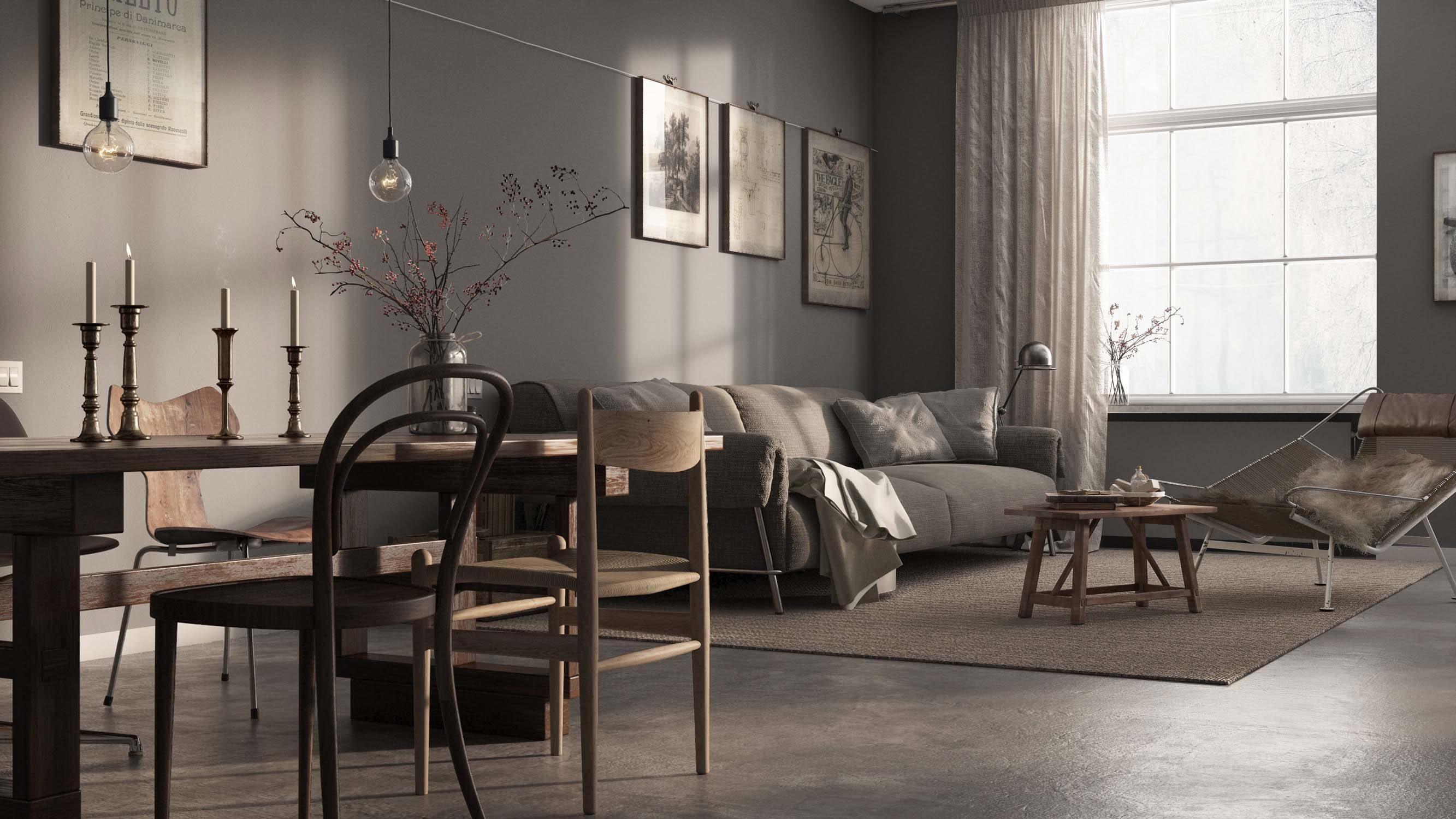 Swedish apartment in Malmo – Level Creative studio, 2015