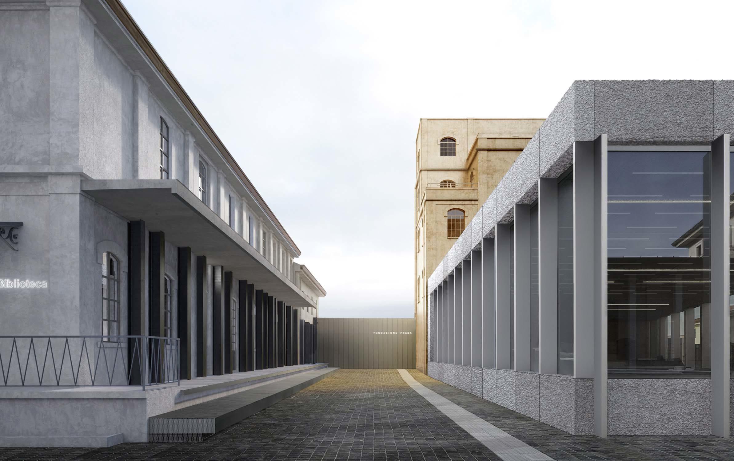 Fondazione Prada in Milan – OMA, 2013