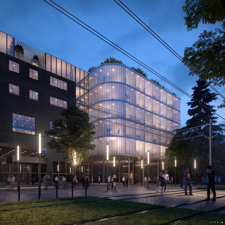 New office headquarters in Odessa Ukraine-Wip Work in progress, 2018