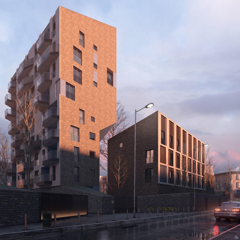 Via Valtorta Residentials in Milan – CZA Cino Zucchi Architects, 2019