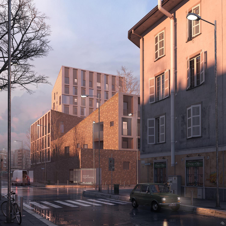 Via Valtorta Residentials in Milan-REinterpretation-CZA Cino Zucchi Architects, 2019