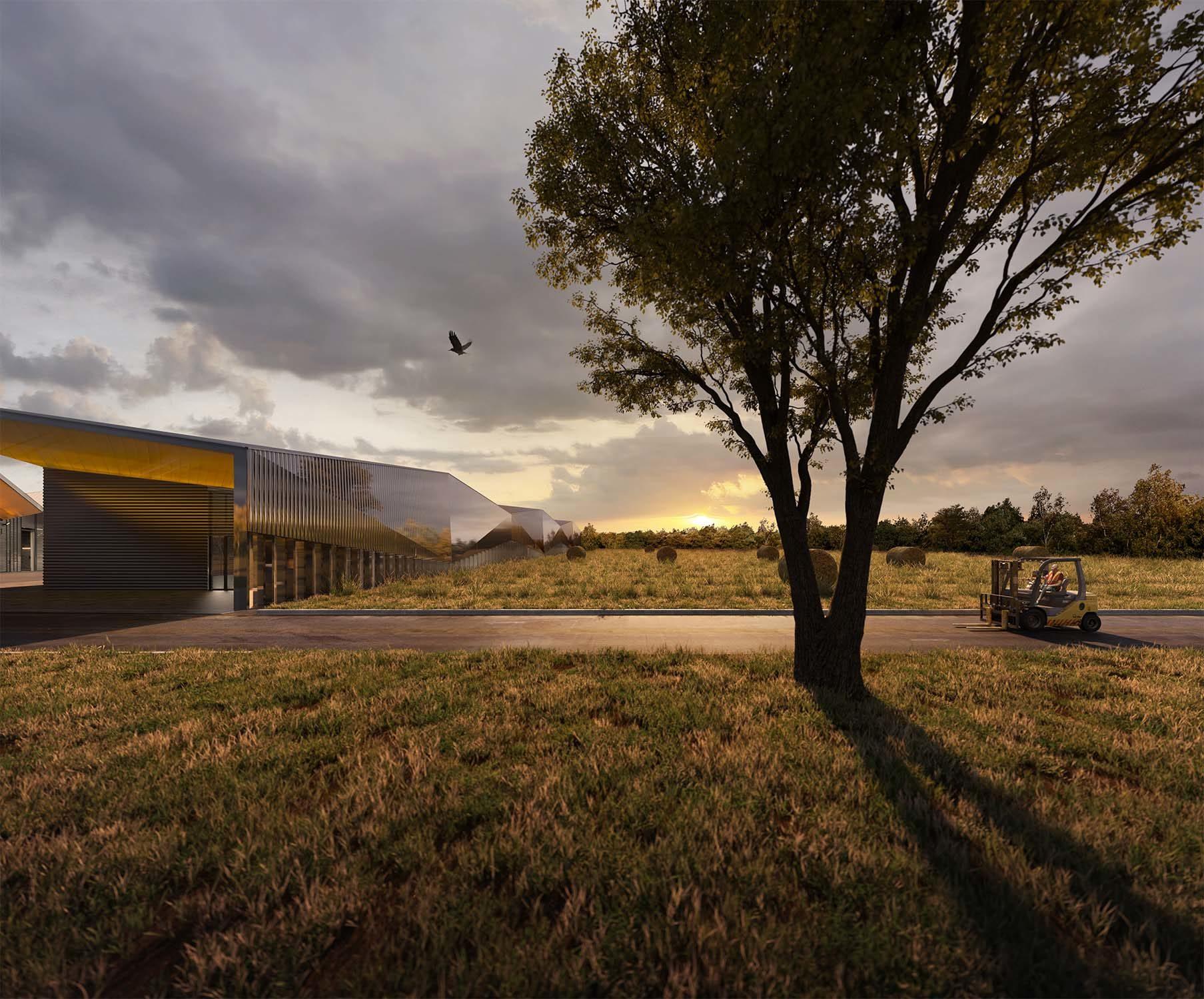 Technical center in Rixhiem, France – Matteo Facchinelli and Nicola Martinoli, 2019