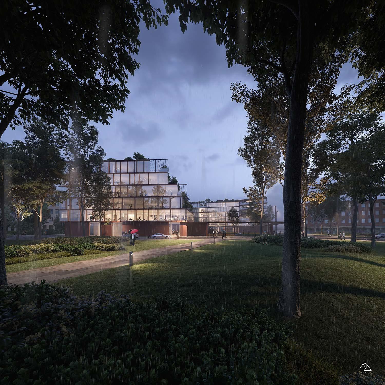 New Findomestic headquarters in Florence – Genius Loci Architettura, 2019
