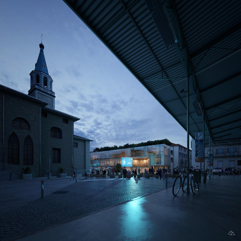 Ex frigorifero militare in Cuneo – Up-a Uboldi Paolo architetti, 2020
