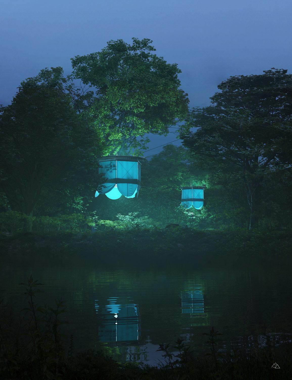 Tree house module – Atelier Giavenale, 2020