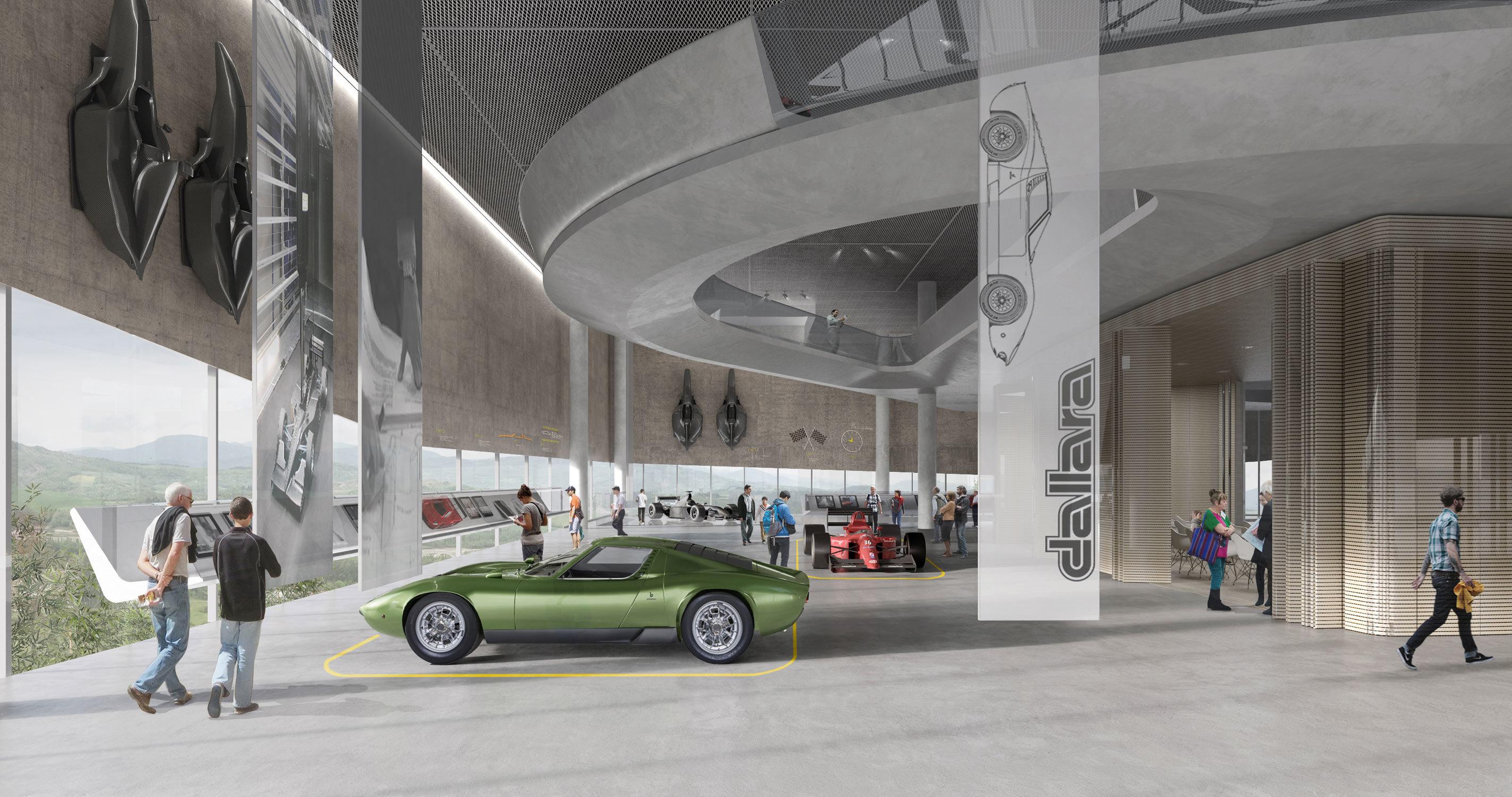 Dallara MusED in Varano Melegari – Bertani Vezzali Studio, 2015