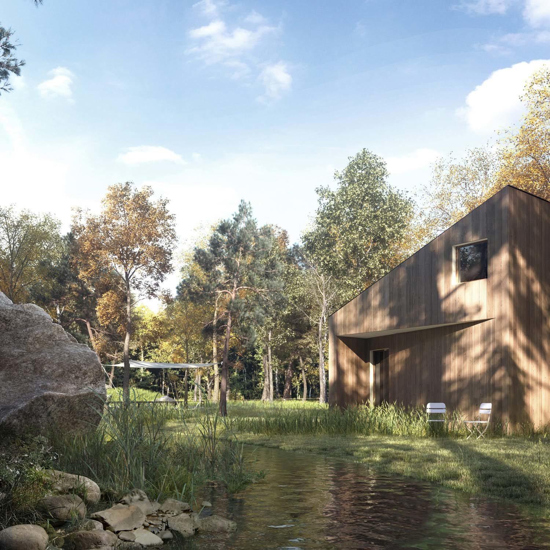 Lake house-Level Creative studio, 2017