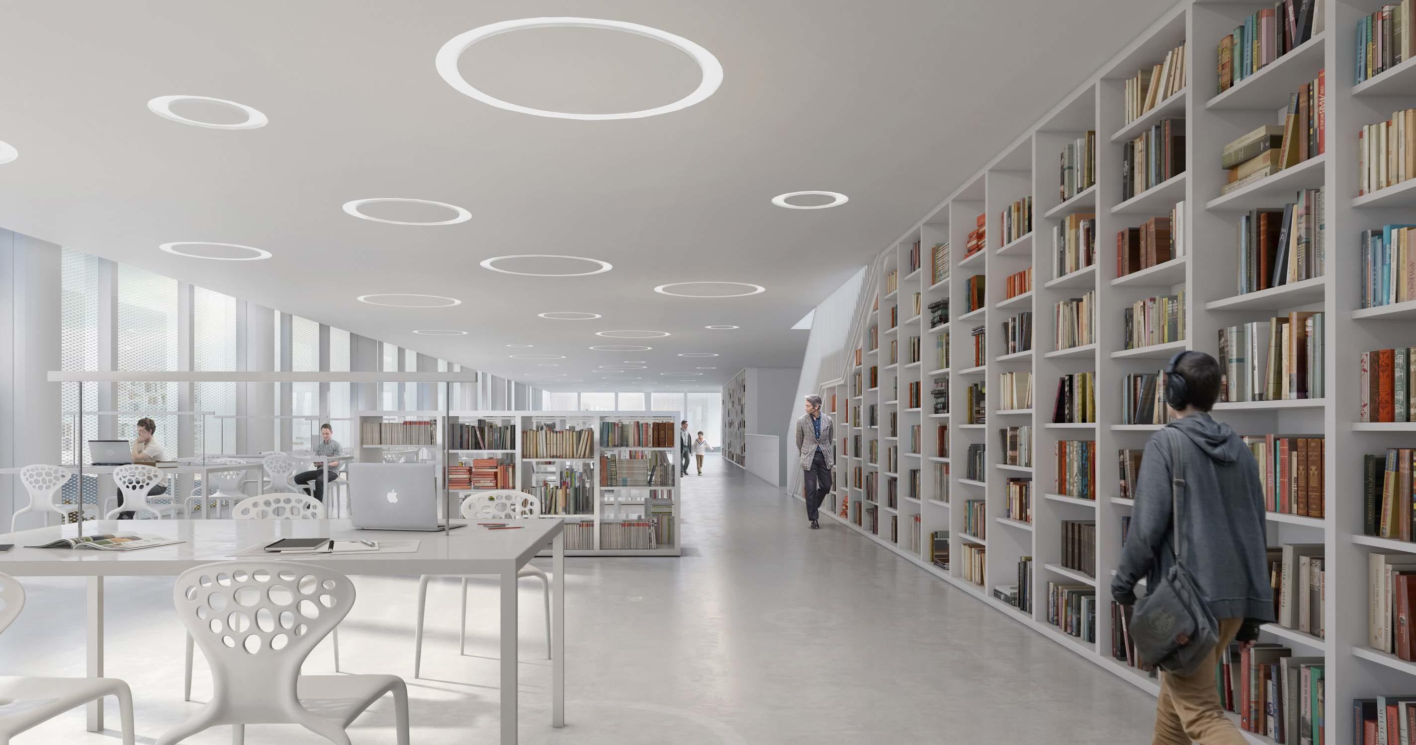 New library in Varna – AMA Andrea maffei Architects, 2016