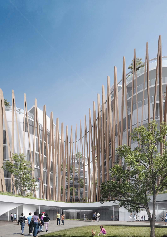 Residences San Raffaele in Milan – MC A Mario Cucinella Architects, 2016