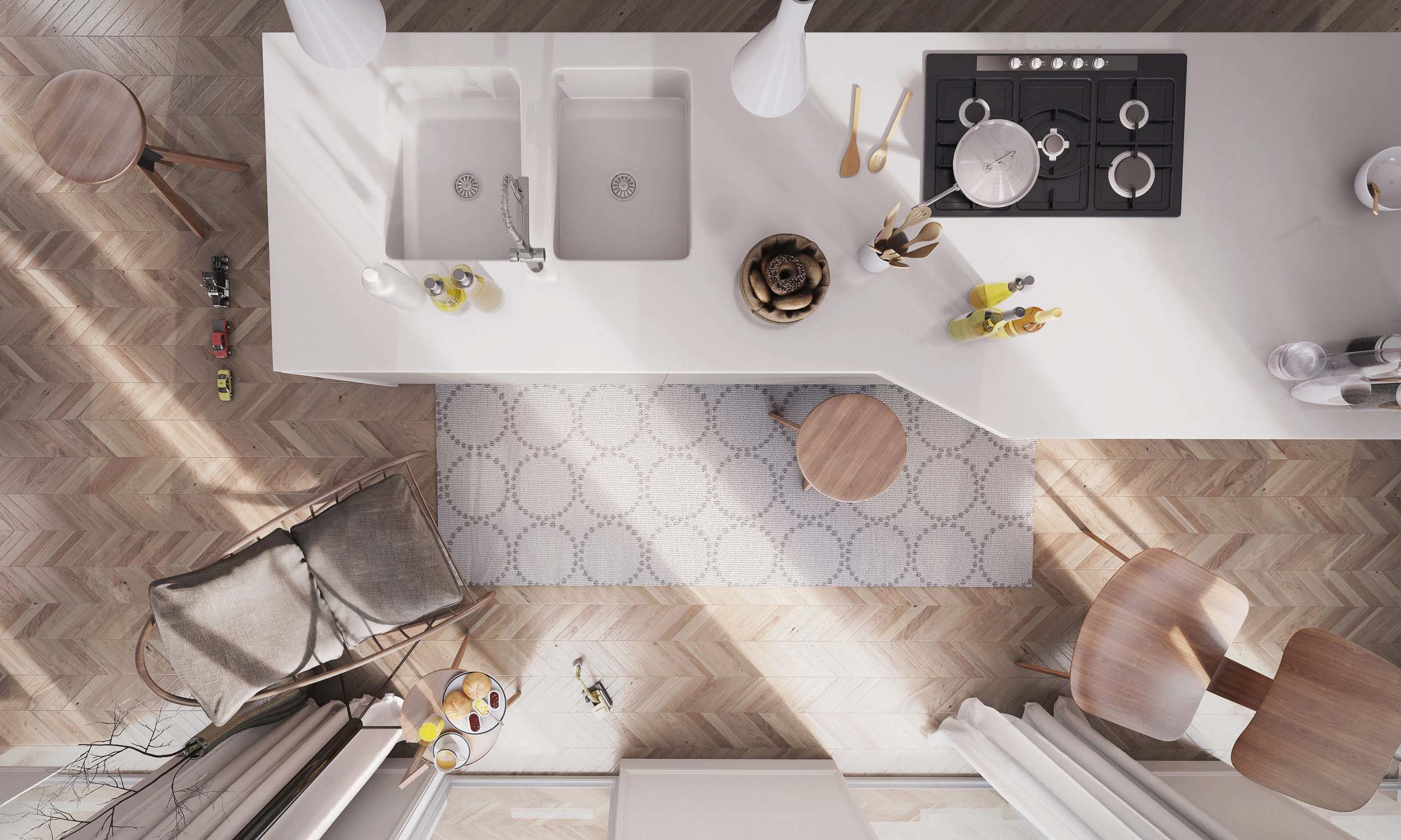 Apartment in Berlin – Level Creative studio, 2014