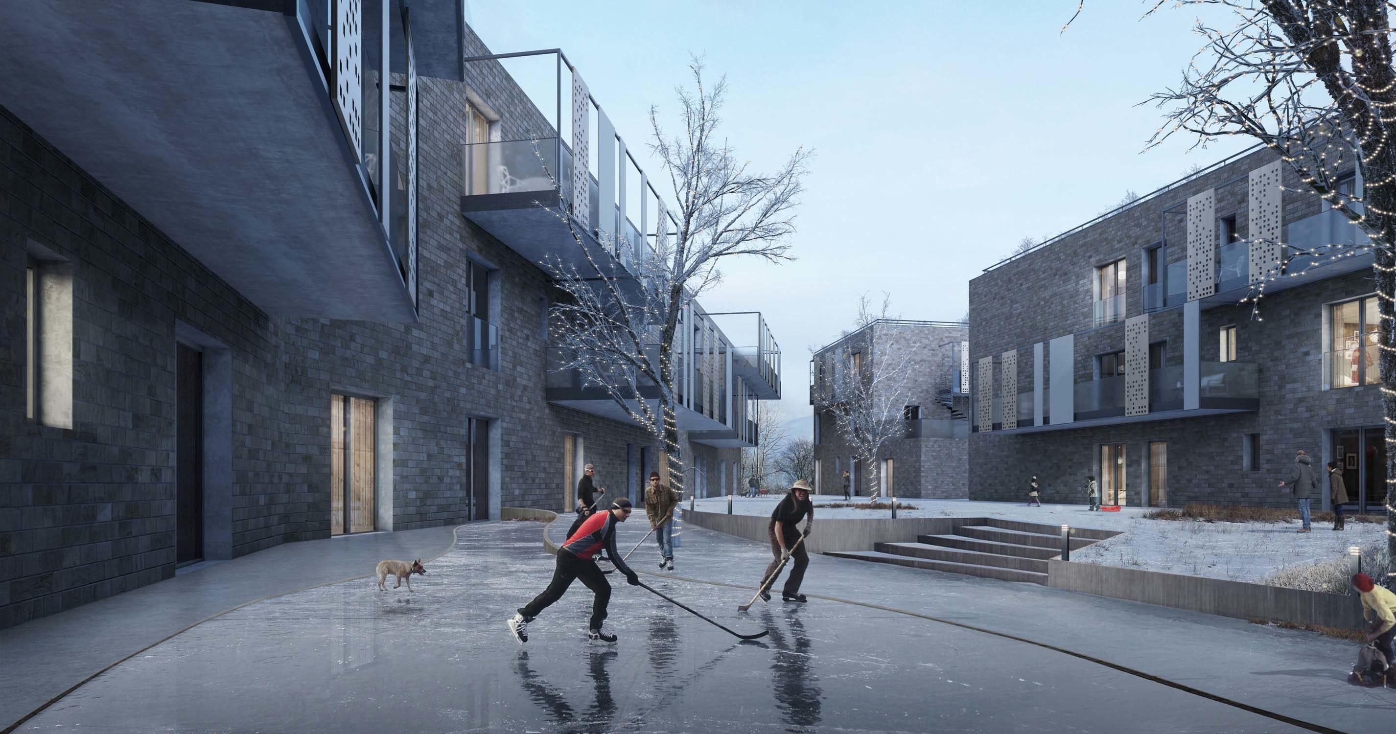 Cohousing in Oslo- Architect Adina Tosi, 2015