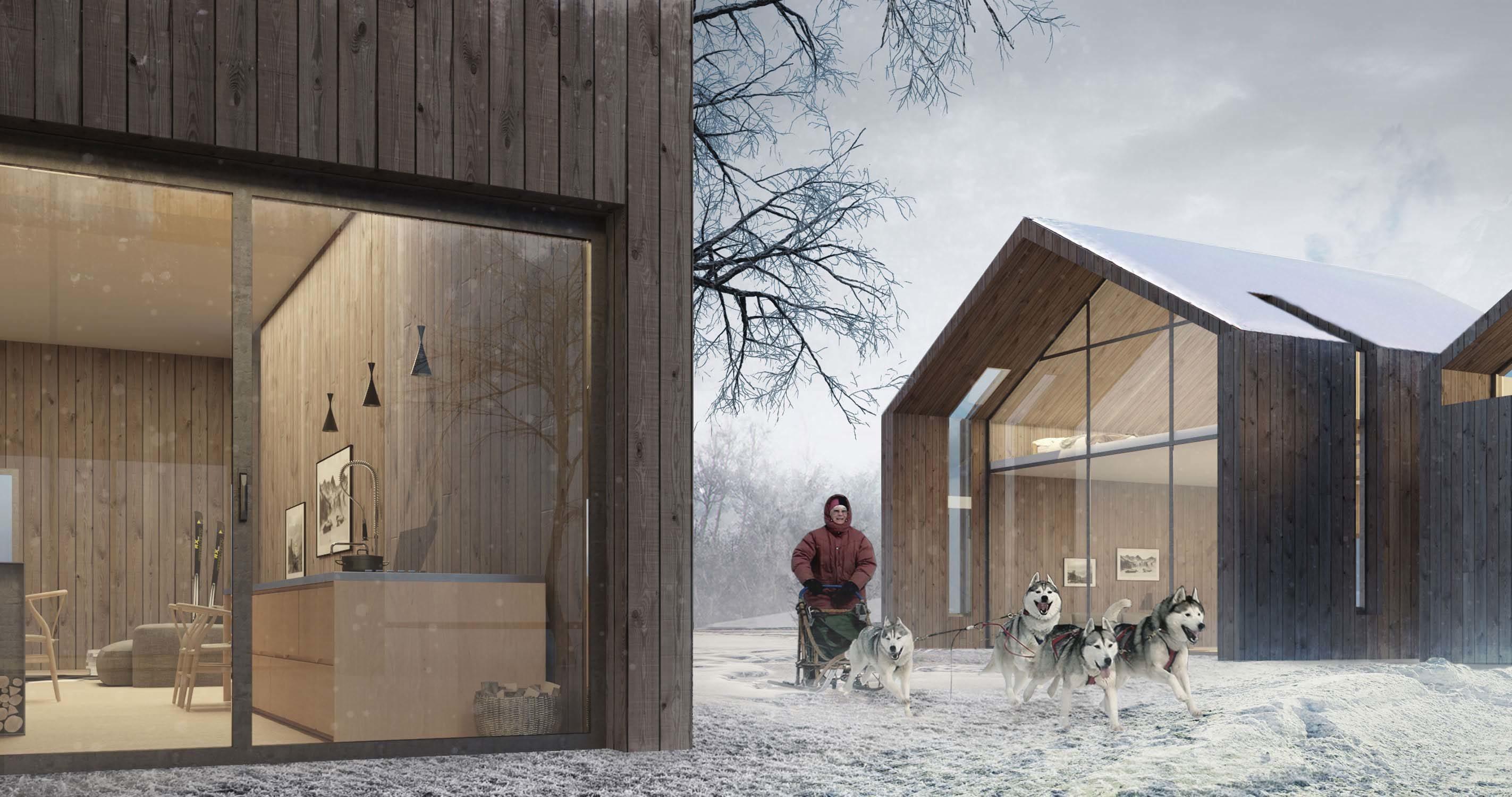 Norwegian cottage in Narvik – Level Creative studio, 2013