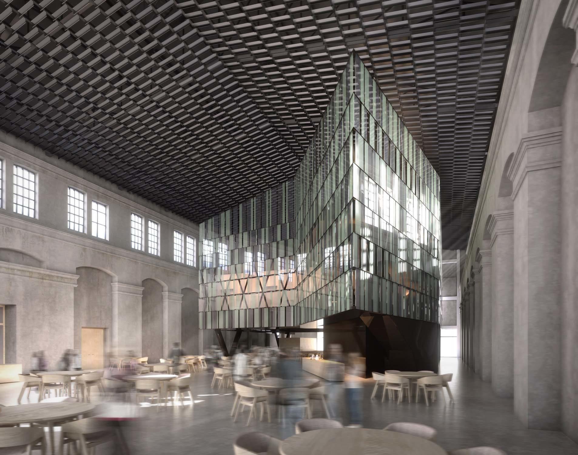 Auditorium Lavazza E5 in Turin – CZA Cino Zucchi Architects, 2013