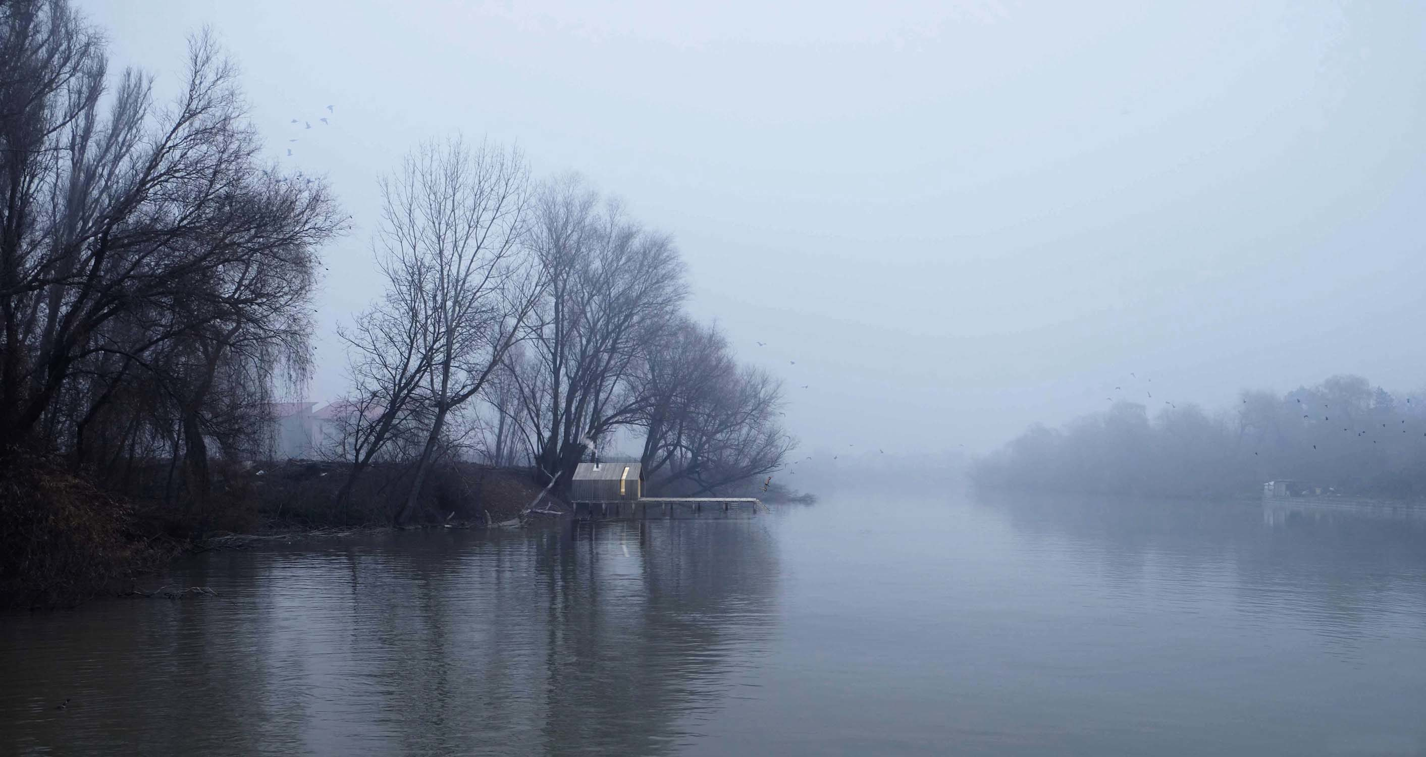 Fog on the lake – Level Creative studio, 2016