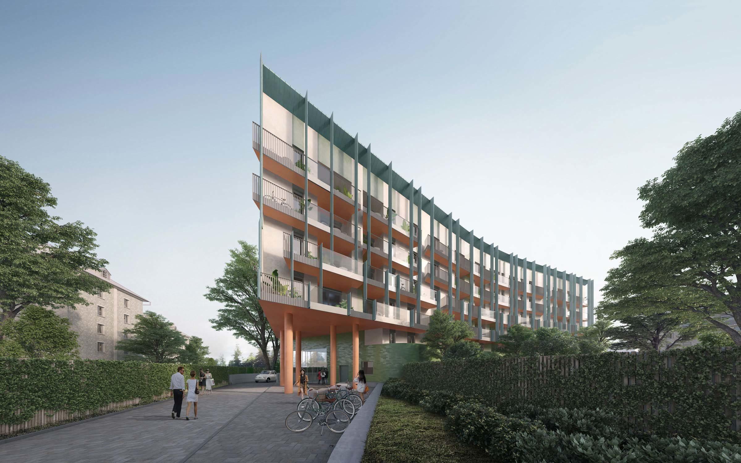 Quarto Cagnino Residentials in Milan – CZA Cino Zucchi Architects, 2016