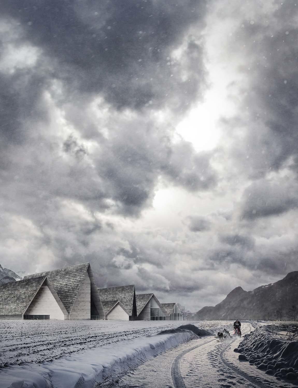 Scandinavian Hotel in Vikedal – Level Creative studio, 2014