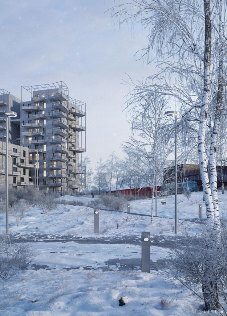 New residential project in Milan-Calzoni Architetti studio, 2018