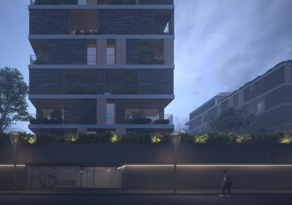 New residential project in Assago Milan-Architectural research workshop, 2018