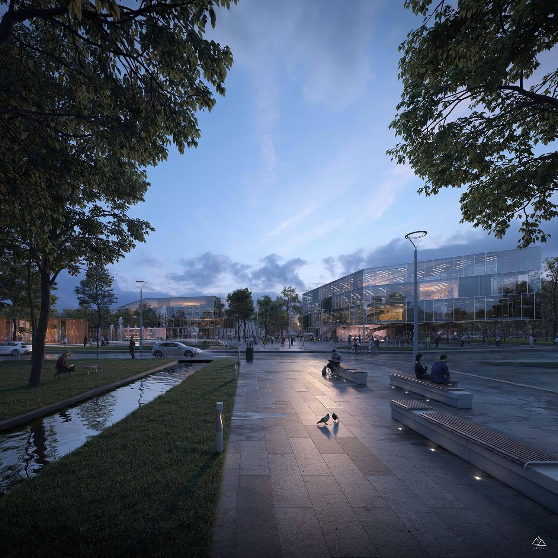 Hub for cooperation in Rimini, Italy – Mijicarchitects, 2019