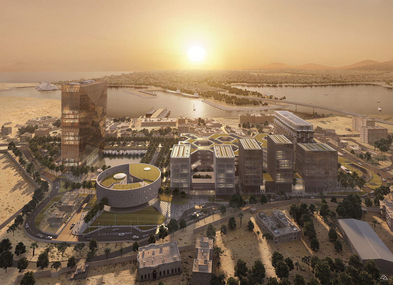 New business district, Bengasi – Stefano Boeri Architetti, 2019