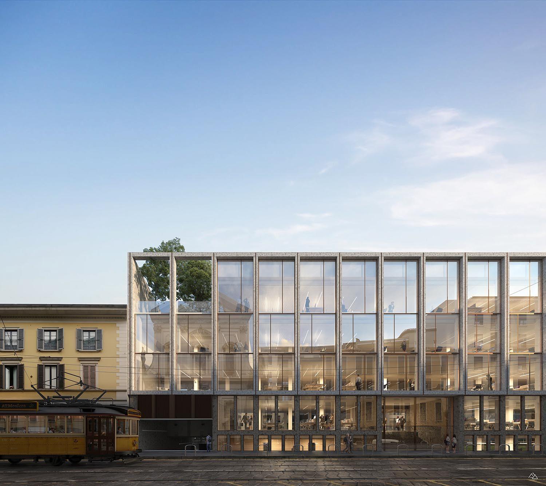 New Unipol headquarters in Porta Vigentina in Milan, Italy – Genius loci architettura, 2019
