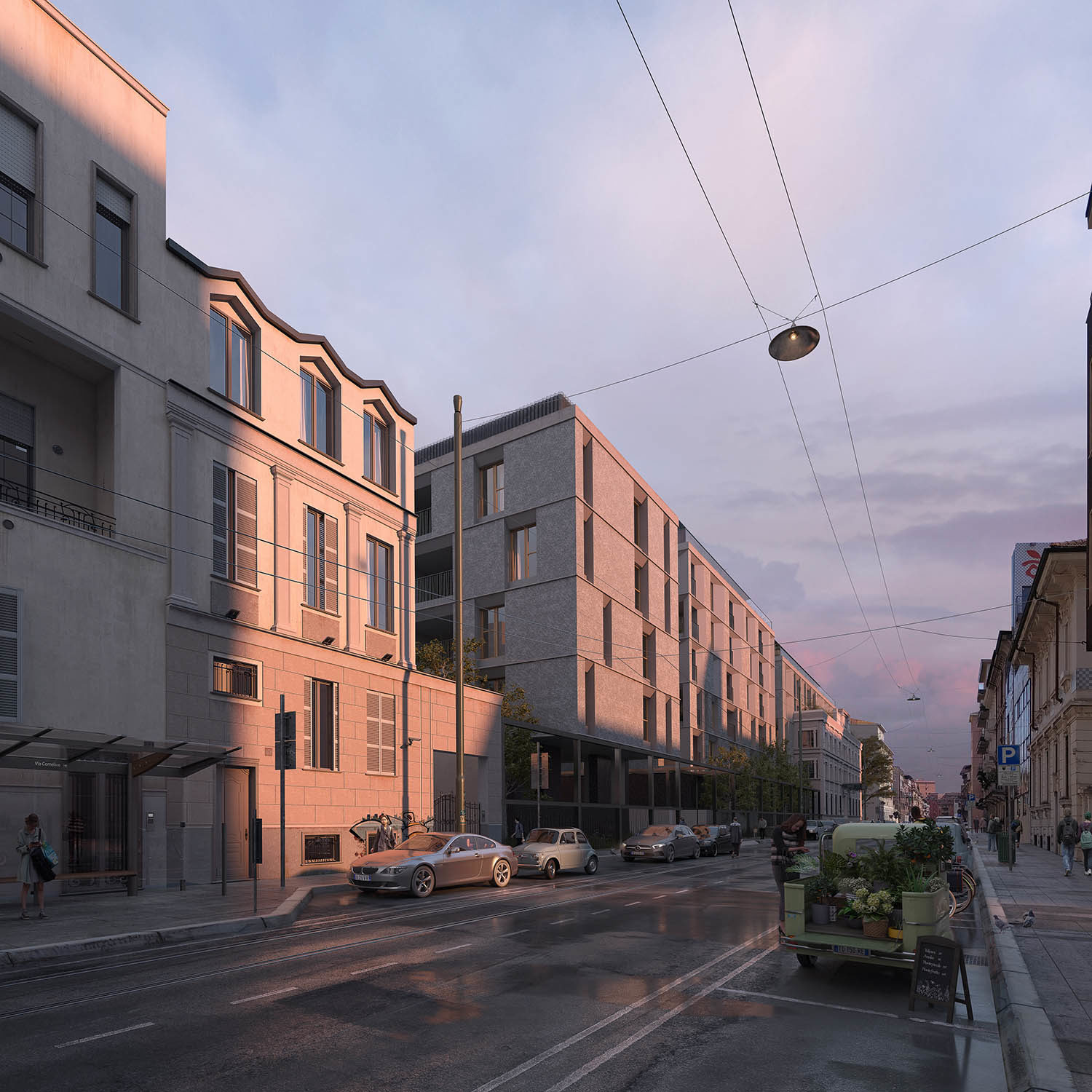 New residential project in Milan-Calzoni Architetti studio, 2019