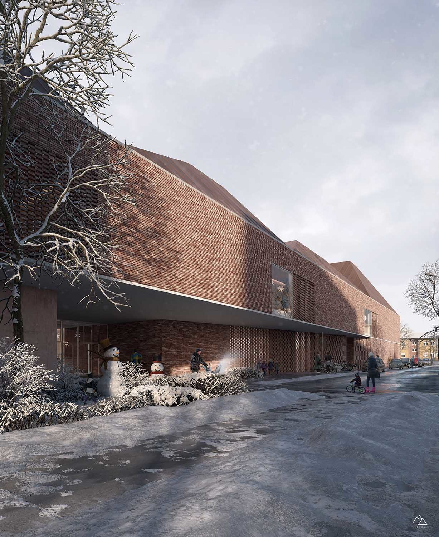 "New primary school ""Mario Lodi"" in Matelica – Italy, Dunamis Architettura, 2019"