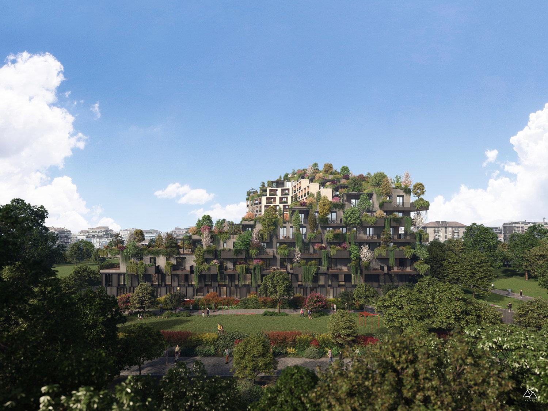 Residential Building Bosconavigli, Milano – Boeri Architetti, 2021