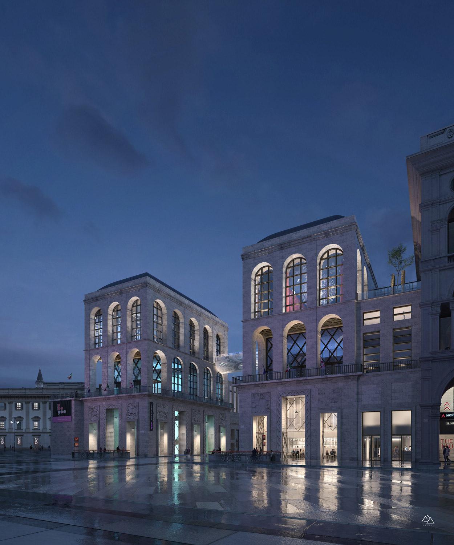 Nuovo Museo del 900 Milano – Calzoni Architetti, 2021